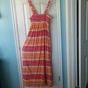 Long summer maxi dress 🕶